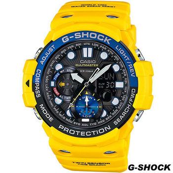CASIO G-SHOCK 溫度方位運動錶 GN-1000-9A