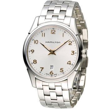 漢米爾頓 Hamilton Jaazmaster 時尚紳士錶 H38511113 白