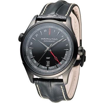 漢米爾頓 Hamilton Jazzmaster GMT 瑞士自動機械錶 H32685731