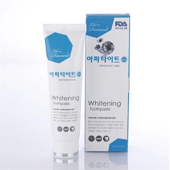 韓國APATITE鑽石系列牙膏-亮白130g