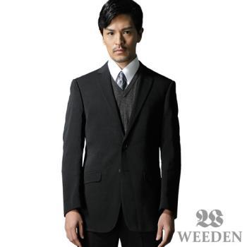 WEEDEN 鍺合金機能纖維西裝外套‧驅動黑