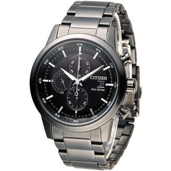 CITIZEN 急速豪傑光動能計時腕錶 CA0615-59E