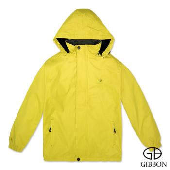 GIBBON 防風抗水刷毛休旅外套‧黃色M~3L