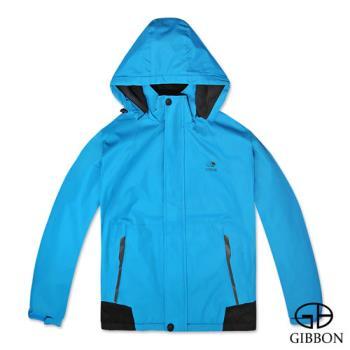 GIBBON 防風防水刷毛機能外套‧湛藍L~XL