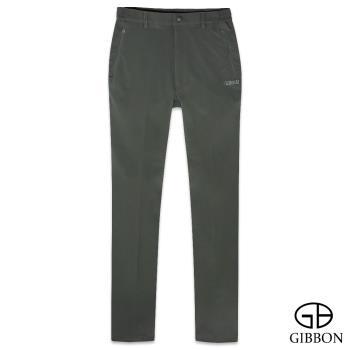 GIBBON 四面彈力防水保暖鬆緊長褲‧綠色M~3L