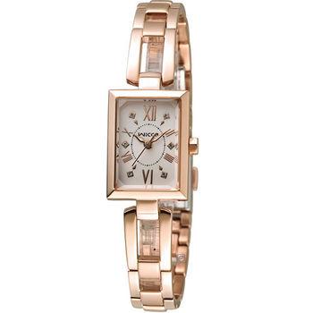 星辰 CITIZEN WICCA 愛戀甜心限量腕錶 BE1-020-23 玫瑰金色