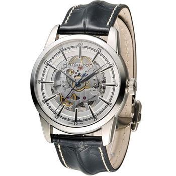 漢米爾頓 Hamilton 永恆經典鏤空腕錶 H40655751 白