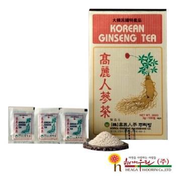 【韓流小舖】 韓國原裝 高麗人蔘茶 (3g×100包/盒)