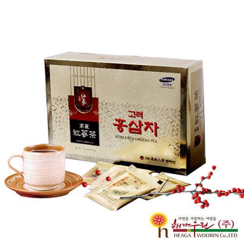 【韓流小舖】 韓國原裝 高麗紅蔘茶 (3g×100包/盒)