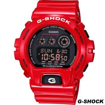 CASIO G-SHOCK 防水200米運動錶 GD-X6900RD-4 紅