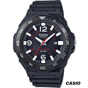卡西歐 CASIO 潛水風運動腕錶 MRW-S310H-1B 黑