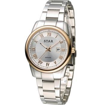 STAR 時代 時尚摩登仕女腕錶 1T1512-111RG-W