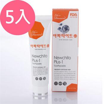 韓國APATITE鑽石系列牙膏-牙齦護理130gX5