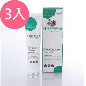 韓國APATITE鑽石系列牙膏-預防口臭130gX3