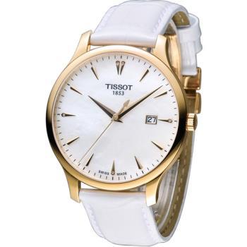 天梭 TISSOT Tradition系列 時尚腕錶 T0636103611601