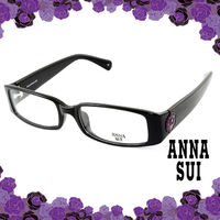 Anna Sui 安娜蘇 花園紫色薔薇 眼鏡 ^#40 黑色 ^#41 AS509001