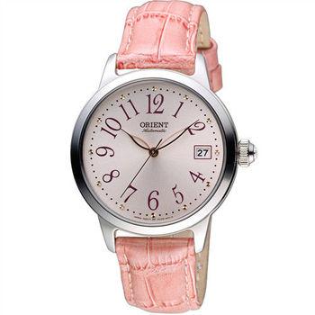 ORIENT 東方錶 花漾時光機械腕錶 FAC06004Z 粉