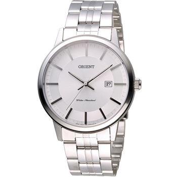 ORIENT 東方錶 SLIM系列 優雅紳士腕錶 FUNG8003W 白