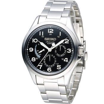 SEIKO PRESAGE 時空旅人經典機械錶 6R21-01A0D SARW015J