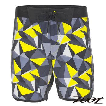 ZOOT 頂級極致冰涼感7吋綁帶式跑褲(男)(晶鑽黃) Z1604035