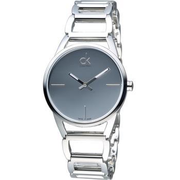 CK Calvin Klein 時尚鏤空手環錶 K3G23128
