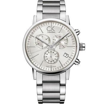 CK Calvin Klein 經典簡約石英腕錶 K7627126