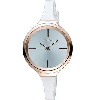 CK Calvin Klein 夢幻焦點經典時尚腕錶 K4U236K6