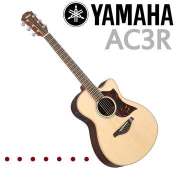 ★YAMAHA 山葉★AC3R 電民謠吉他/含琴袋.肩帶.導線/公司貨保固