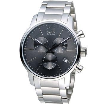 CK Calvin Klein 城市經典簡約石英計時腕錶 K2G27143