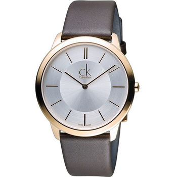 Calvin Klein Minimal 俐落時尚腕錶 K3M216G6
