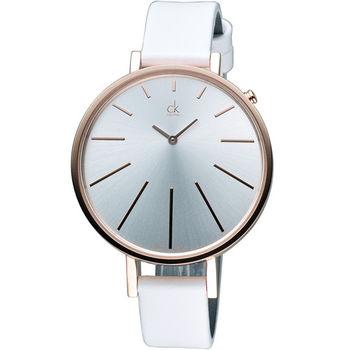 Calvin Klein Equal 名媛時尚腕錶 K3E236L6