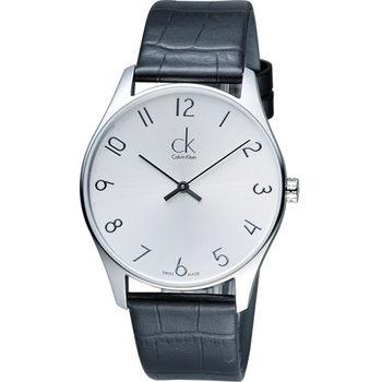 Calvin Klein CK Classic 簡約經典時尚腕錶 K4D211G6