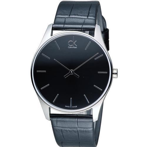Calvin Klein CK Classic 簡約經典時尚腕錶 K4D211C1