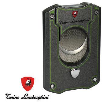 義大利 藍寶堅尼精品 - LES MANS CIGAR CUTTER 雪茄剪(鐵灰綠) ★ Tonino Lamborghini 原廠進口 ★