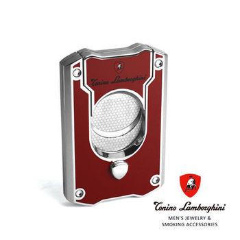 義大利 藍寶堅尼精品 - LES MANS CIGAR CUTTER 雪茄剪(紅色) ★ Tonino Lamborghini 原廠進口 ★
