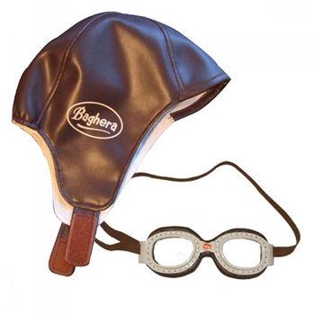 法國Baghera  飛行帽護目鏡組