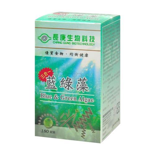 【長庚生技】藍綠藻180粒裝(6入)