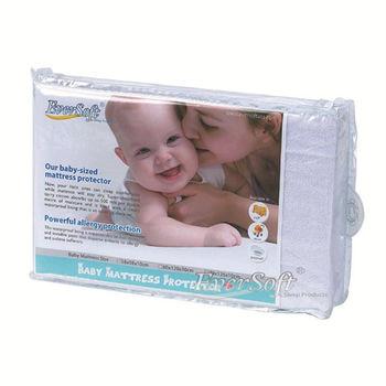【Ever soft  寶貝墊】嬰兒床保潔墊-60x120cm