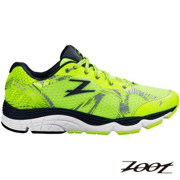 ZOOT 頂級極致型德爾瑪跑鞋(夜光黃)(男) Z160100701 送(豆豆鞋帶)
