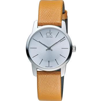 CK Calvin Klein City 完美主義簡約石英腕錶 K2G23120