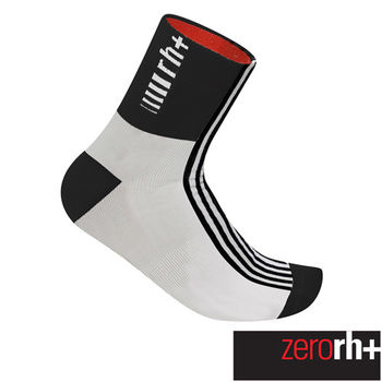 ZeroRH+ 義大利FUEGO高筒運動襪(13 cm) ●黑/白、螢光黃、白/黑● ECX9071