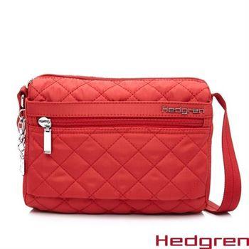 【Hedgren】HDIT -Diamond 鑽石系列-側背包(紅色)