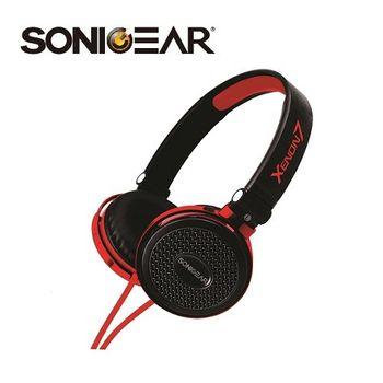 SONICGEAR  Xenon7 新潮立體聲多媒體耳機(含通訊麥克風)_玫瑰金BR
