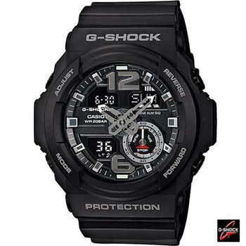 GA系列 CASIO G-SHOCK 超人氣潮流運動錶 GA-310-1A 黑