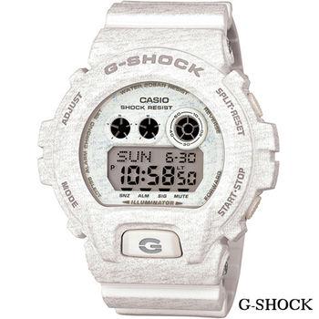 CASIO G-SHOCK 輕時尚繽紛運動錶 GD-X6900HT-7 白