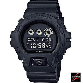CASIO G-SHOCK 6900系列霧黑時尚運動錶 DW-6900BB-1D 黑