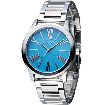 Michael Kors 情迷羅馬時尚腕錶 MK3519 藍