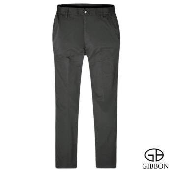 【GIBBON】防曬超輕薄彈力鬆緊長褲‧深灰M~3L