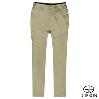 【GIBBON】 防曬超輕薄彈力鬆緊長褲‧卡其M~3L