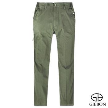 【GIBBON】防曬超輕薄彈力鬆緊長褲‧灰綠M~3L